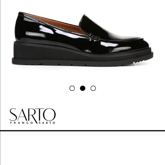 c4a4649ba11 Patent Sarto by Franco Sarto Ayers Loafers!
